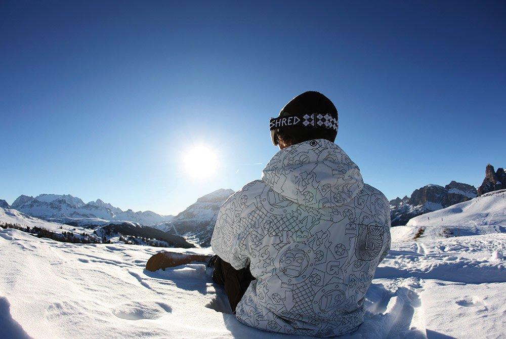 Anche per gli snowboarder e gli sciatori d'alpinismo l'Alpe di Siusi in inverno è il comprensorio sciistico perfetto