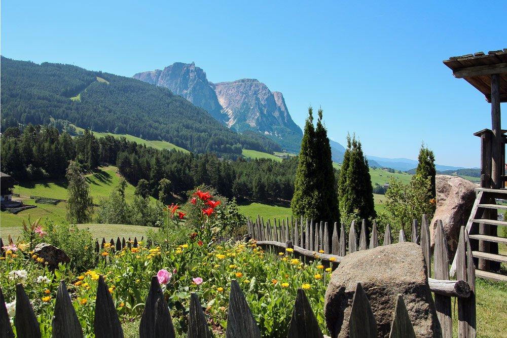 Bauernhofurlaub unterhalb der Seiser Alm - besondere Eindrücke prägen Ihren Urlaub